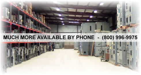 Much More Inventory Available by Phone: (800) 996-9975